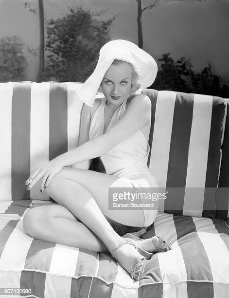 American actress Carole Lombard