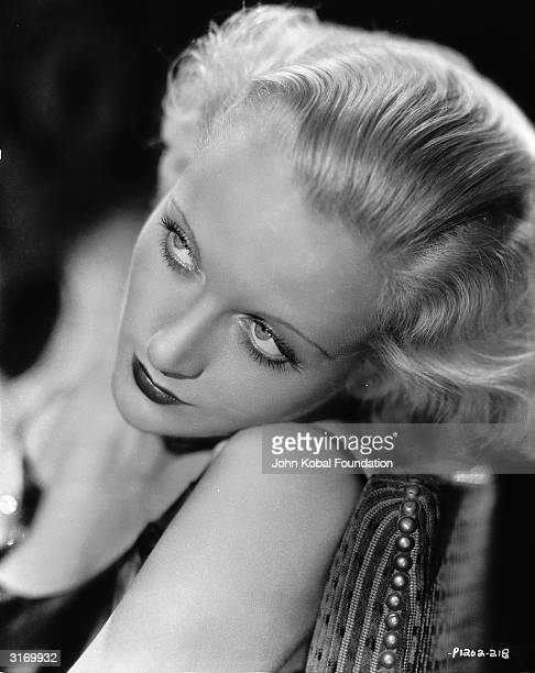 American actress Carole Lombard Twice married to actors William Powell and Clark Gable she died in a plane crash in 1942