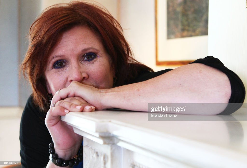 Carrie Fisher Portrait Shoot In Sydney