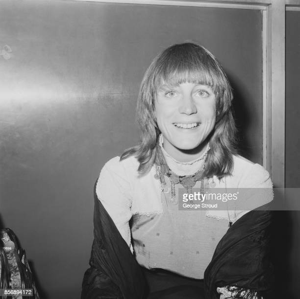 American actress Carrie Snodgress arrives at Heathrow Airport London UK 29th December 1970