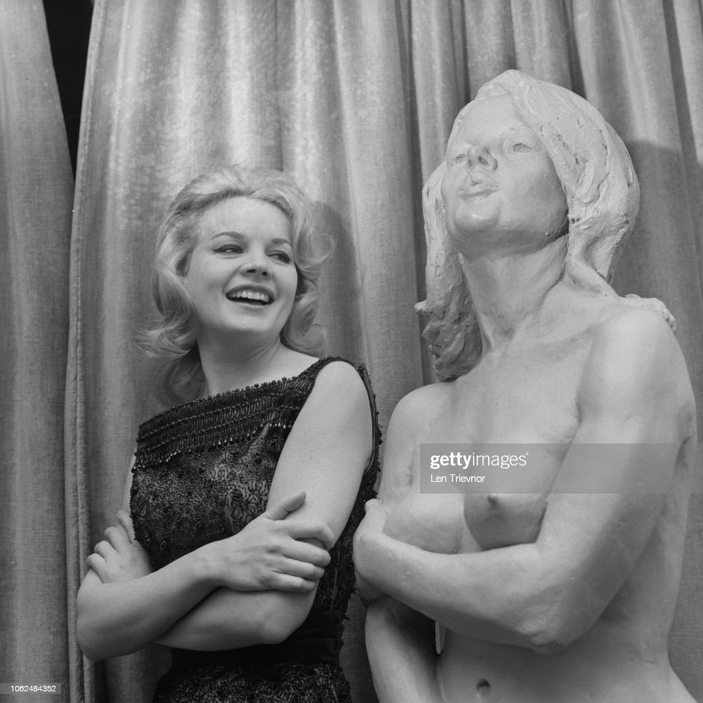 American Actress Carroll Baker On The Set Of Television