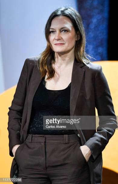 American actress Catherine McCormack attends the ceremony on the closure day of 67th San Sebastian International Film Festival on September 28 2019...