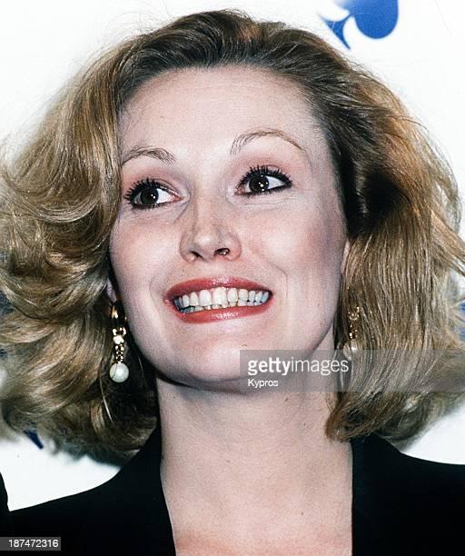 American actress Cathy Moriarty circa 1993