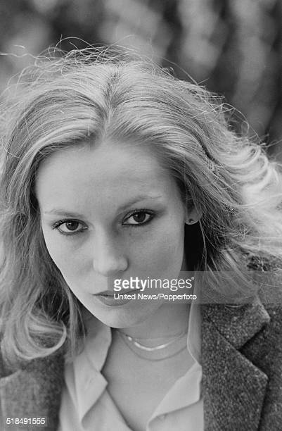 American actress Cathy Moriarty who portrays Vikki LaMotta exwife of boxer Jake LaMotta in the film Raging Bull in London on 24th February 1981