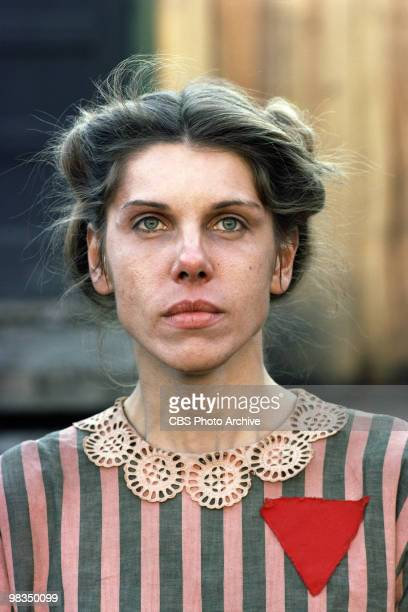 American actress Christine Baranski in a scene from the madefortelevsion film 'Playing for Time' Annville Pennsylvania 1980 It was originally...