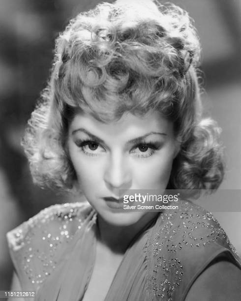 American actress Claire Trevor in a publicity shot for the film 'Stagecoach' 1939