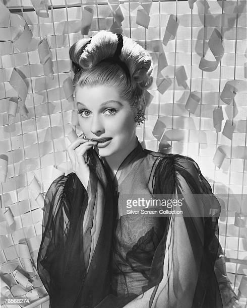 American actress comedian and TV executive Lucille Ball circa 1940