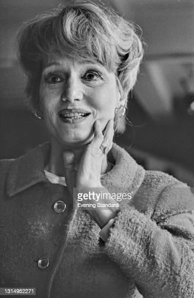 American actress Constance Cummings , UK, 30th April 1971.