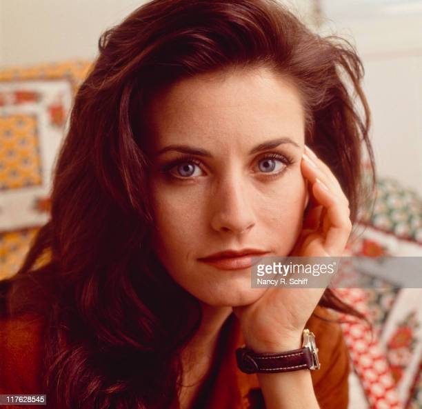 American actress Courteney Cox 1992