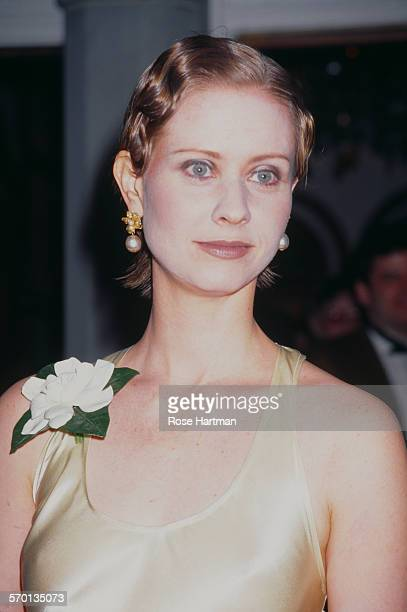 American actress Cynthia Nixon at the opening night of 'Indiscretions' Broadway New York City USA 1995