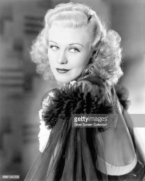 American actress dancer and singer Ginger Rogers circa 1940