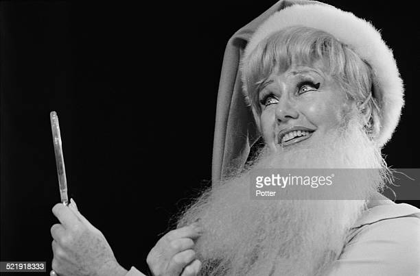 American actress, dancer and singer Ginger Rogers during a rehearsal, 1969.