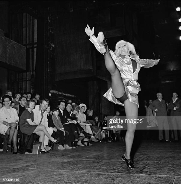 American actress dancer and singer Ginger Rogers during rehearsals for the musical 'Mame' 6th January 1969