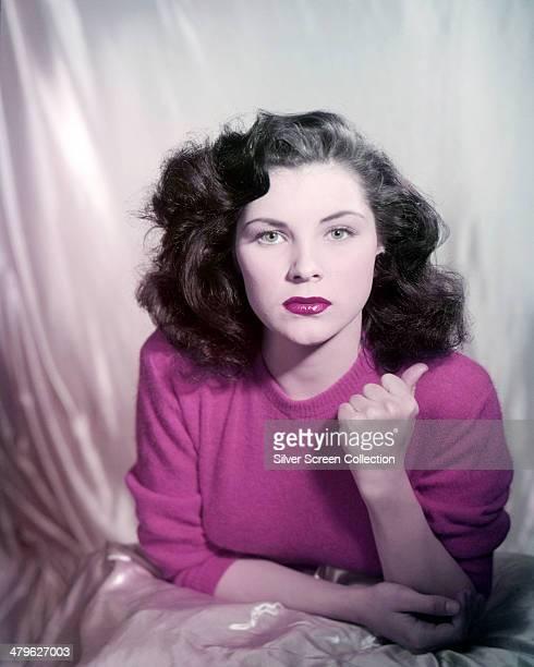 American actress Debra Paget, circa 1950.