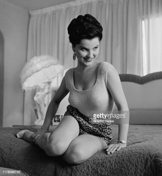 American actress Debra Paget circa 1955
