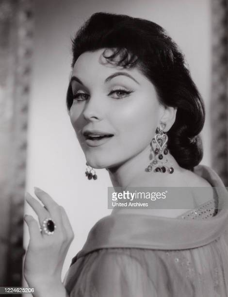 American actress Debra Paget Germany 1959
