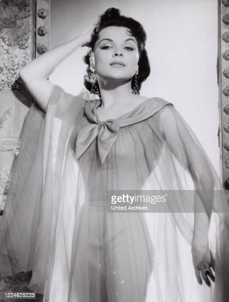American actress Debra Paget, Germany, 1959. .