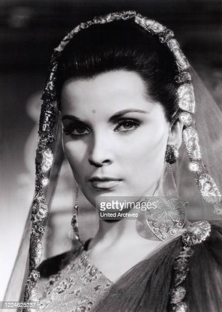American actress Debra Paget in the movie Der Tiger von Eschnapur Germany 1959