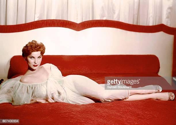 American actress Debra Paget
