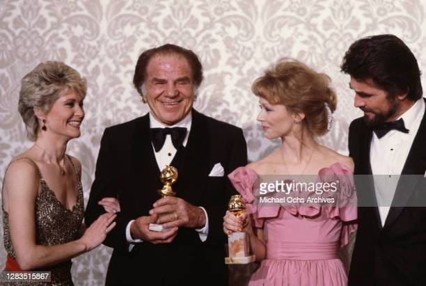 American actress Dee Wallace, American actor Lionel Stander , American actress Shelley Long, and American actor James Brolin attend the 40th Annual...