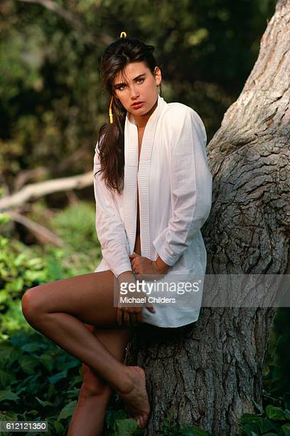 American Actress Demi Moore