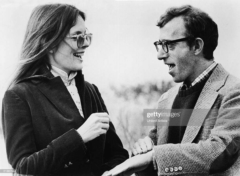 Diane Keaton And Woody Allen In 'Annie Hall' : News Photo