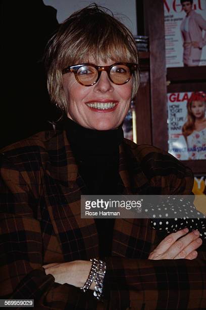 American actress Diane Keaton at her book signing USA circa 1994