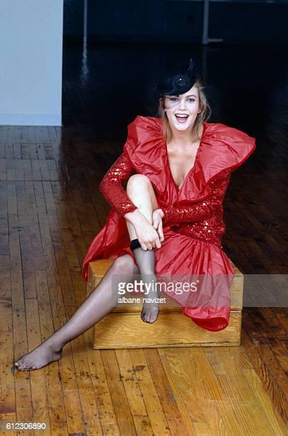 American actress Diane Lane