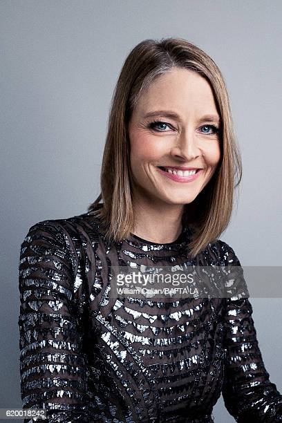American actress director and producer Jodie Foster poses for a portrait at the 2016 AMD British Academy Britannia Awards presented by Jaguar Land...