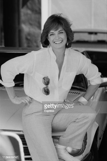 American actress director producer and fashion model Linda Gray UK 25th October 1983