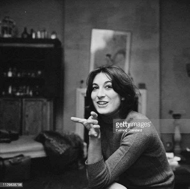 American actress director producer author and fashion model Anjelica Huston UK 21st October 1968