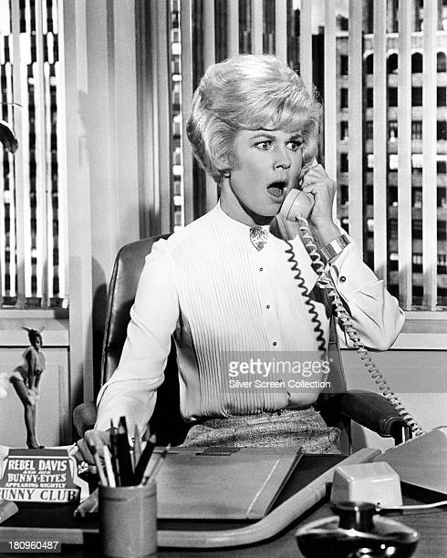 American actress Doris Day as Carol Templeton in 'Lover Come Back' directed by Delbert Mann 1961