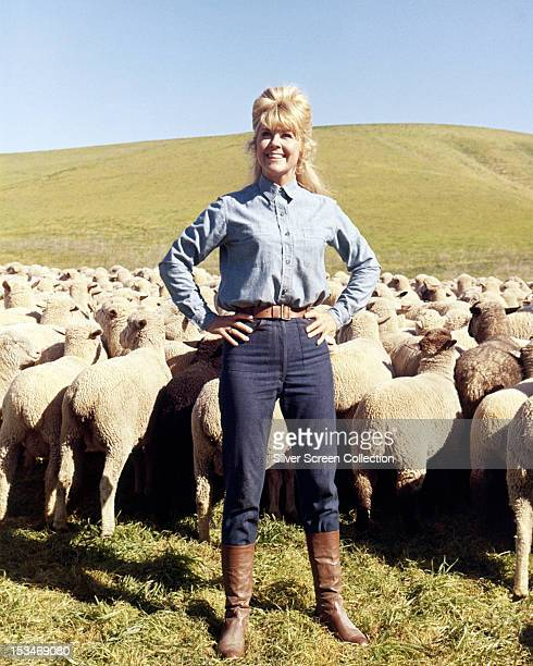 American actress Doris Day as Josie Minick in 'The Ballad Of Josie' directed by Andrew V McLaglen 1967