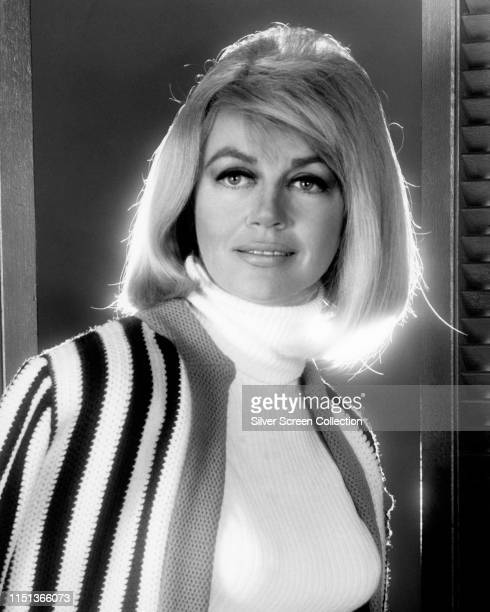 American actress Dorothy Malone as Constance Mackenzie in the soap opera 'Peyton Place' circa 1966