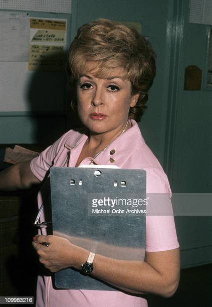 American actress Elena Verdugo poses for a portrait on the set of ABC series Marcus Welby MD circa 1970's in Santa Monica California Verdugo played...