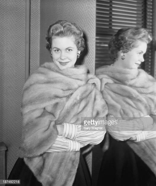 American actress Elizabeth Montgomery circa 1955