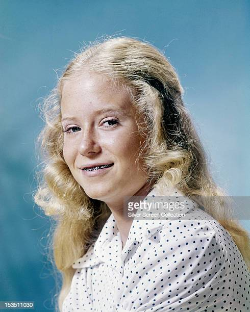American actress Eve Plumb circa 1972 Plumb is best known for playing Jan Brady in the American TV series 'The Brady Bunch'