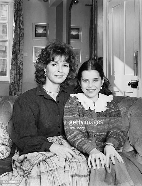 American actress Fairuza Balk with her mother Cathryn Balk circa 1985