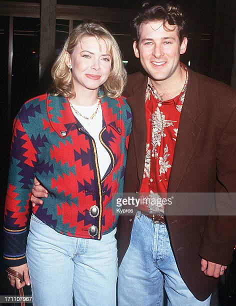 American actress Faith Ford with her husband Robert Nottingham circa 1992