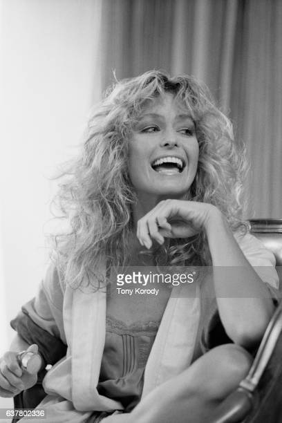 American Actress Farrah Fawcett