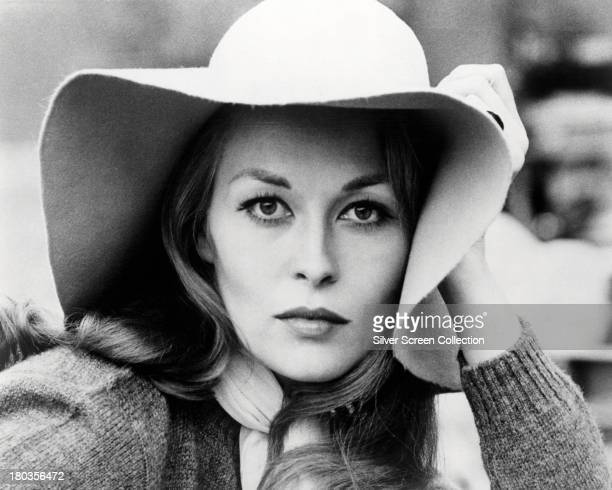 American actress Faye Dunaway as Lou in a promotional portrait for 'Puzzle Of A Downfall Child' directed by Jerry Schatzberg 1970