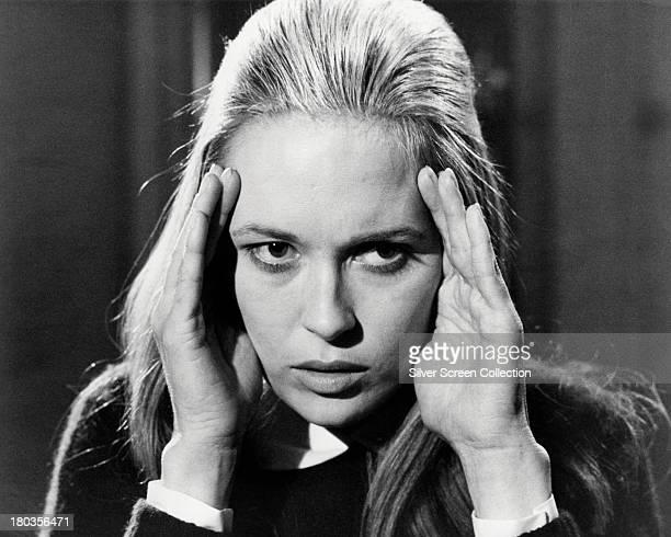 American actress Faye Dunaway circa 1968
