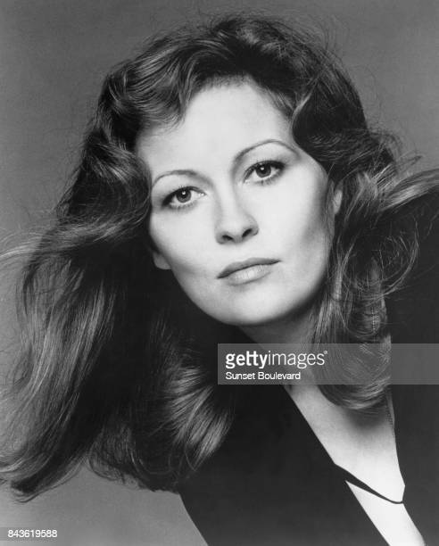 American actress Faye Dunaway in Network directed by Sidney Lumet