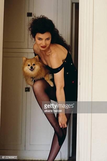 American actress Fran Drescher