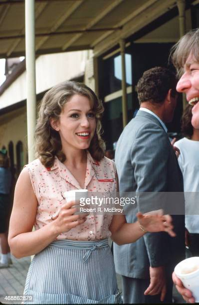 American actress Frances McDormand and British director Alan Parker on the set of their movie 'Mississippi Burning' Braxton Mississippi May 6 1988