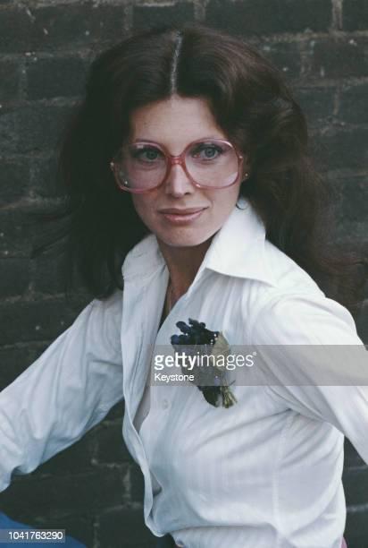American actress Gayle Hunnicutt 1980