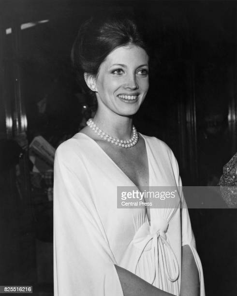 American actress Gayle Hunnicutt arrives at the Dominion in Tottenham Court Road London for the European premiere of the film 'That's Entertainment'...