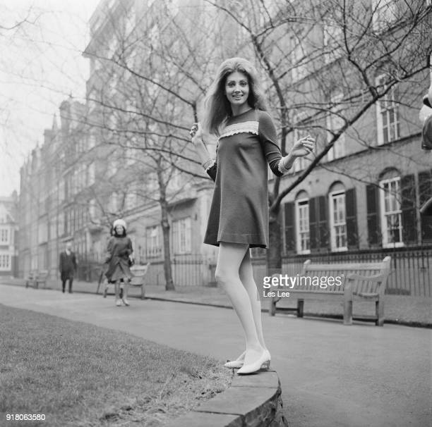 American actress Gayle Hunnicutt in London UK 10th March 1968