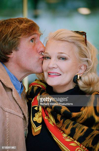 American Actress Gena Rowlands and French Actor Gerard Depardieu