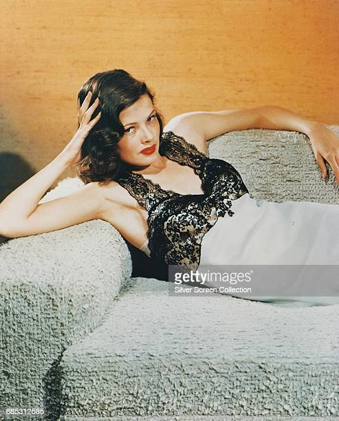 American actress Gene Tierney circa 1945